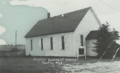 Vintage Photo of the Mission Covenant Church - Date Unknown